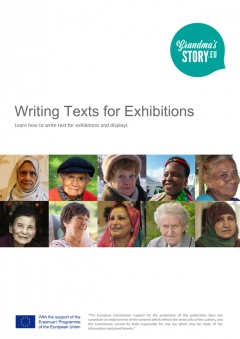 Writing texts for exhibitions