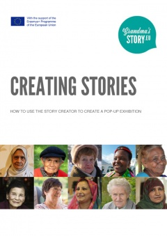 How to use the Story Creator to create a pop up exhibition
